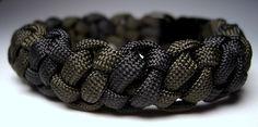 knots patterns paracord   Stormdranes Blog: Bonobo Bar Paracord Bracelet with Side Release ...