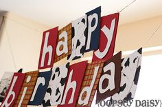 diy toy story banner