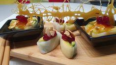 Rezept: Obstsalat mal anders (Hauptspeise) = kochbar Challenge 5.0 (Mai 2019) Bild Nr. 2 Mai, Sushi, Panna Cotta, Challenge, Cheese, Ethnic Recipes, Food, Fruit Salads, Bakken