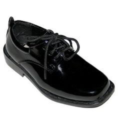Tip Top Black Patent Dress Oxford Shoes