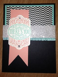 Stamping With Sass: 2013 Convention Swaps - Chalk Talk stamp set