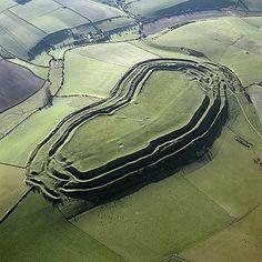 Maiden Castle, near Dorchester, Dorset