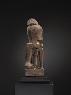 Ancestor Figure 10946 Leti Island Wood 19th/very early 20th Century Ex J. Camp Gallery New York, ex Anthony F. Granucci 5 in/13 cm