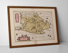 Caithness Old Map, originally created by Willem Janszoon Blaeu, now available as a 'museum quality' vintique wall decoration print. We Are Family, Historical Maps, Antique Maps, Travel Posters, Giclee Print, Create Yourself, Vintage World Maps, Wall Decor, Museum