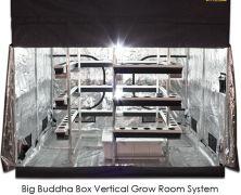 Big Buddha Box x Vertical Hydroponic Grow Room with Gorilla Grow Tent