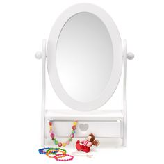 Hereu0027s A Mirror Thatu0027s More Than Just A Pretty Face! We Love The Handy  Storage