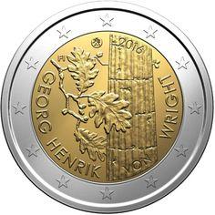 monedas de 2€ cc de Finlandia 2016