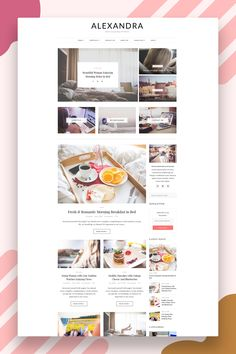 Allow your content to shine with Alexandra. Easy installation allows you to start post blogs immediately after the activation. Theme supported Customizer which allows you to customize and change design of your blog. Perfect choice for your personal blog, corporate blog, marketing blog, authority blog or any type of creative blog. #blogtheme #wordpresstheme #wordpressblog