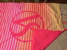 Victoria's Secret Beach Blanket Towel Roll Up Pink New #VictoriasSecret