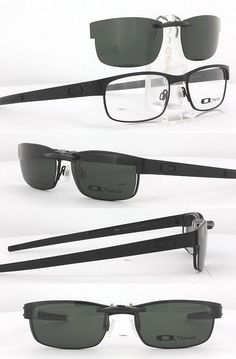 Other Vision Care: Custom Fit Polarized Clip-On Sunglasses For Oakley Metal Plate Ox5038 55X18 5038 -> BUY IT NOW ONLY: $58.88 on eBay!