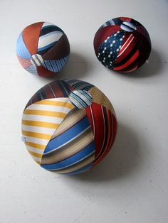 ties! - this would be the perfect ornament for Mark.