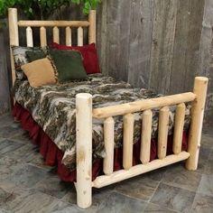 Cedar Creek Rustic Furniture Log Bed Size Twin