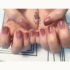 16 Trendy Ideas for nails ideas ombre gel 16 Trendy Ideas for nails ideas ombre gel Love Nails, How To Do Nails, Pretty Nails, My Nails, Manicure Y Pedicure, Minimalist Nails, Gel Nail Designs, Nails Design, Nail Arts