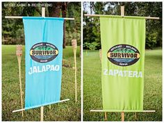 """Survivor"" Inspired Party Full of Fabulous Ideas via Kara's Party Ideas…                                                                                                                                                     More"