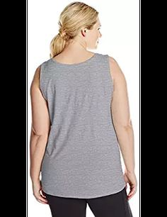 4609d31b9 Just My Size Just My Size Women s X-Temp Shirred Tank Top from  3.03Prime