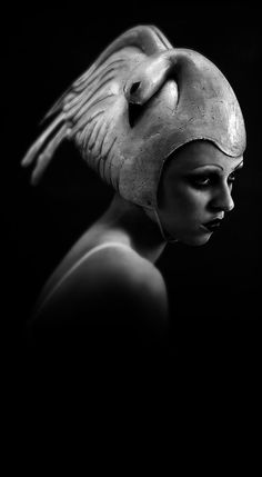 **EGOmim** Swan - This is the hat that goes with that dress of Bjork's...  ;-)