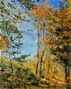 Max Slevogt - Herbstwald [1906]