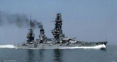 japanese imperial navy Battleship KIRISHIMA
