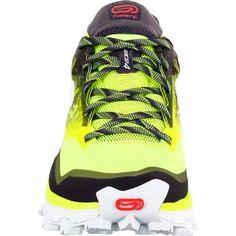 check out 22ab7 14c7a Chaussures trail running kiprace trail 4 femme jaune noir kalenji