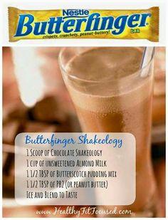 Butter finger shake