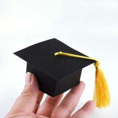 Graduation Candy Boxes - 50pcs/set