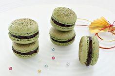 Matcha Macarons - Matcha macarons.