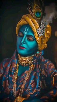 Krishna Gif, Radha Krishna Songs, Radha Krishna Love Quotes, Radhe Krishna Wallpapers, Lord Krishna Hd Wallpaper, Lord Shiva Pics, Lord Krishna Images, Dark Angel Tattoo, Couple In Rain