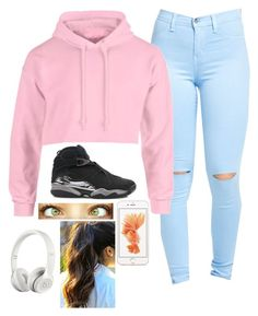 """With Friends✌️"" by justsopretty ❤ liked on Polyvore featuring NIKE, Beats by Dr. Dre, women's clothing, women, female, woman, misses and juniors"