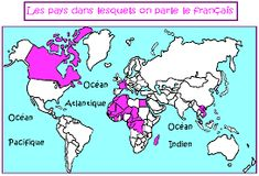 French Greetings, Les Continents, France, Comics, Memes, Image, Google, Atlantic Ocean, Speak French