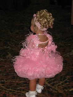 National Level High Glitz Cupcake Pageant Dress