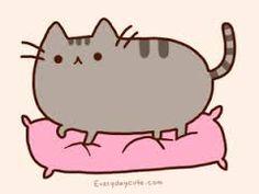 Pusheen, she's so cute! Pusheen, she's so cute! Pusheen The Cat Book, Chat Pusheen, Pusheen Love, Chat Kawaii, Kawaii Cat, Fat Cats, Cats And Kittens, Fat Kitty, Crazy Cat Lady