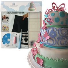 Yes, you can even do cake decorating with the Pazzles.
