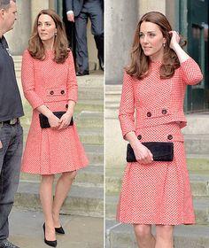 Catherine Duchess of Cambridge. March 11 2016. London