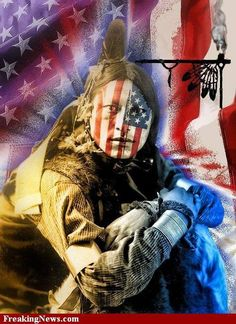 Happy July 4th - Said no Native ever!! Though many Natives have served in the military fighting for this country and for their service we thank them!!!