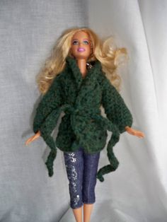 Crochet Barbie Sweater #pattern