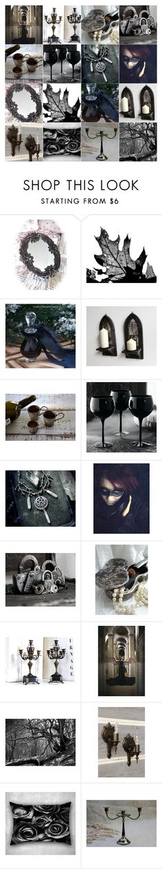 """""""A Little Dark"""" by andreadawn1 ❤ liked on Polyvore featuring Grandin Road"""