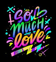 I like how the colors give it a neon look and it looks fun and playful but also like a concert poster. Creative Typography, Typography Letters, Graphic Design Typography, Lettering Design, Typography Inspiration, Graphic Design Inspiration, Text Design, Logo Design, Pop Art Wallpaper