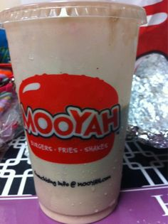 It doesn't matter if the glass is half empty or have full.. as long as there is a MOOYAH shake in it! #Milkshake