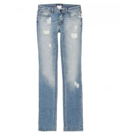 Dolce & Gabbana Light Blue Heavily Distressed Soft Denim Jean from www.profilefashion.com Bell Bottom Jeans, Denim Jeans, Light Blue, Shoe Bag, Stuff To Buy, Pants, Shopping, Collection, Polyvore
