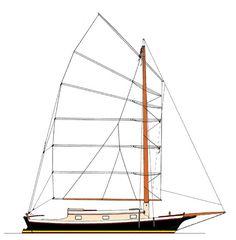 33' Scow (Parker) Sea Bright, Best Boats, Boat Interior, San Juan Islands, Charter Boat, Yacht Design, Island Girl, Power Boats, Catamaran