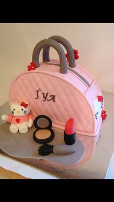 Hello Kitty Channel Purse Cake Food Pinterest And