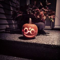 Pin for Later: 24 Last-Minute, Magical Harry Potter Pumpkin Ideas Little Harry