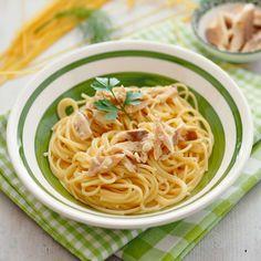 Spaghetti mit Räucherfisch Foto: A. Jungwirth Spaghetti, Pasta, Ethnic Recipes, Food, Al Dente, Noodles, Pasta Meals, Fish, Cooking Recipes