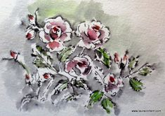LAURA CLIMENT, PAINTER Roses Only, Floral Wreath, Wreaths, Home Decor, Art, World, Brush Strokes, Art Background, Decoration Home