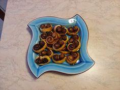 le Torte di Ciuffina: Ventagli di sfoglia al cacao e cannella