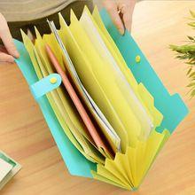 El Nuevo Libro Impermeable Bolsas de Papel A4 Carpeta Documento Diseño Plegable Color Al Azar Rectángulo Oficina de Educación En El Hogar(China (Mainland))