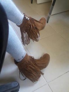 Püsküllü ayakkabi#