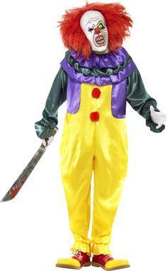70€ Schreckliches Clowns-Kostüm für Erwachsene : Kostüme für Erwachsene, und günstige Faschingskostüme - Vegaoo