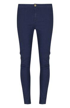 Primark - Vaqueros de talle alto azules $11