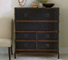 pottery barn inspired ikea dresser makeover, decoupage, diy, painted furniture, woodworking projects